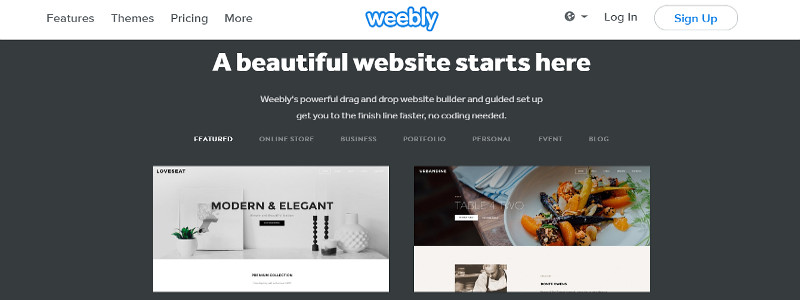 Weebly review